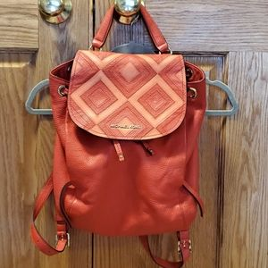 Michael kors purse backpack and wallet